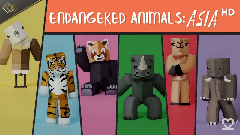 Endangered Animals Asia HD
