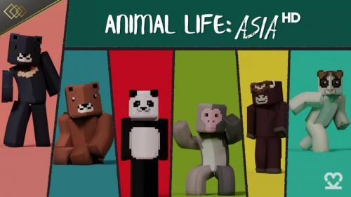 Animal Life Asia: HD